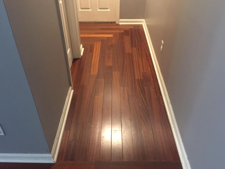 I like the 45 degree cuts to turn the corner in the hallway  Recent Work  Facebook Page in