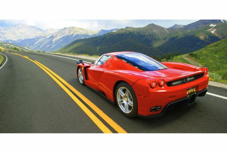 Ferrari Enzo.   Trains, Planes & Automobiles.   Pinterest
