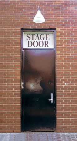 The stage door at the Firehouse Center for the Arts-Newburyport MA #theatre & 32 best Stage doors images on Pinterest | Curtain call Stage and ...