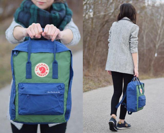 lovely kanken backpack