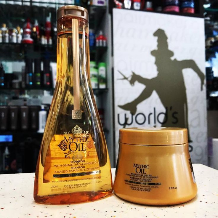 L'Oreal Mythic Oil Shampoo & Mask #loreal #mythicoil #shampoo #hairlove #haircare #hairlife #bestproducts