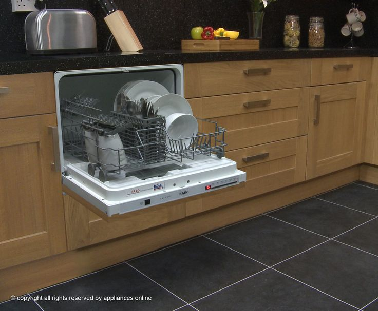 Attractive Compact Dishwasher From Ao   Small House Or Basement Kitchen Awesome Design