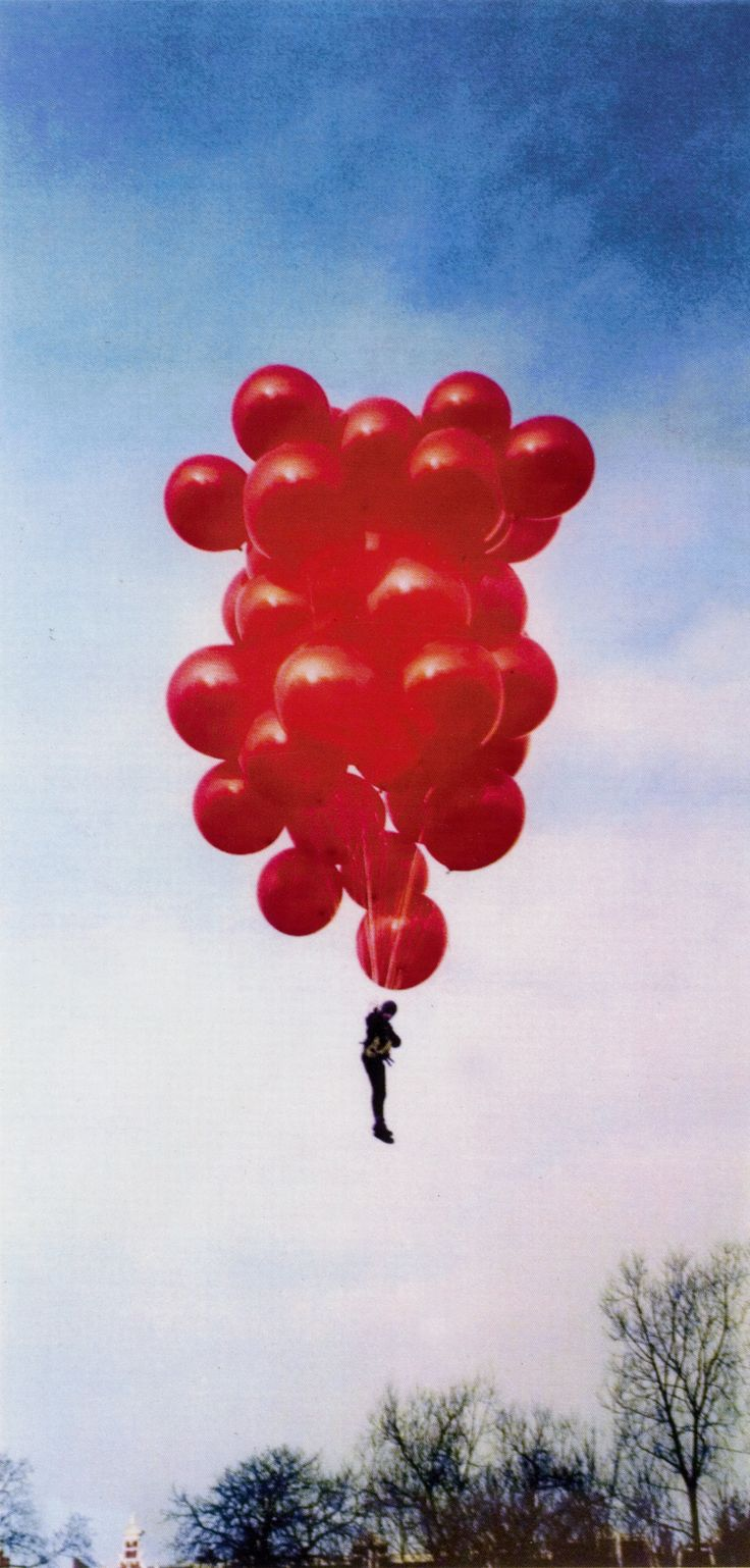 Wanted to do this since I was a little girl, and then it was reaffirmed when I saw UP! lol