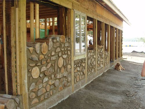 33 best cordwood homes images on pinterest cordwood homes eco rh pinterest com wiring a cordwood house for electricity Inside Cordwood House