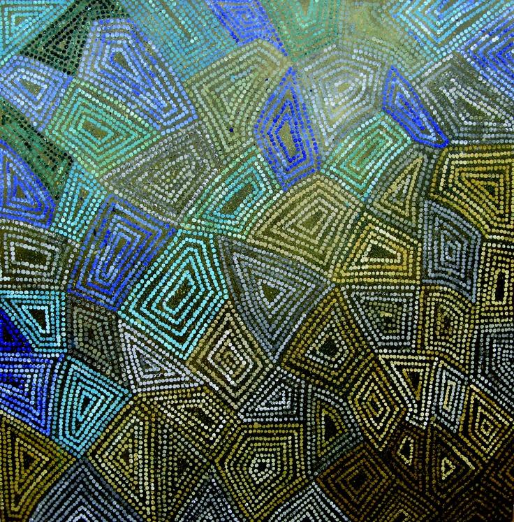Acrylic on Canvas: 80cmx80cm