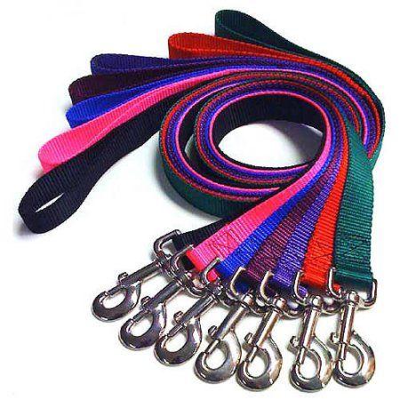Majestic Pet 1'' x 4' Lead in Multiple Colors, Multicolor