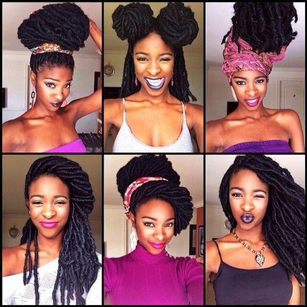 hair styles with extensions 21 best faux locs sizes images on hair dos braids and hair cuts 8385