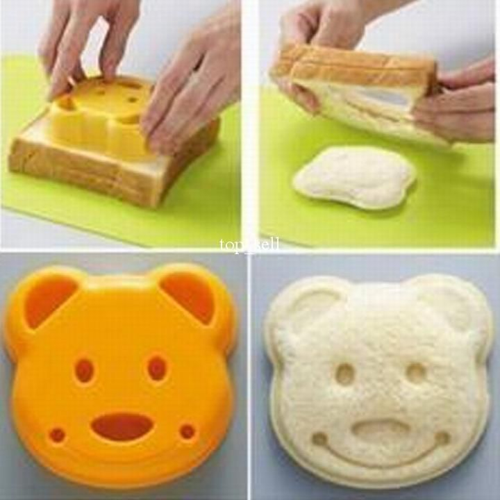 Wholesale Baking & Pastry Tools - Buy Free Shipping Mixed Order Over 10usd Diy Bear Sandwich Mould Bread Mould, $3.37 | DHgate