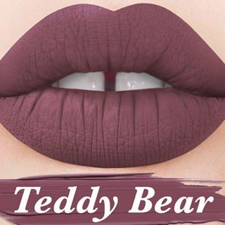 Lime Crime Velvetine in Teddy Bear