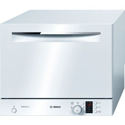 Bosch Free Standing Compact Dishwasher SKS62E22EU - White