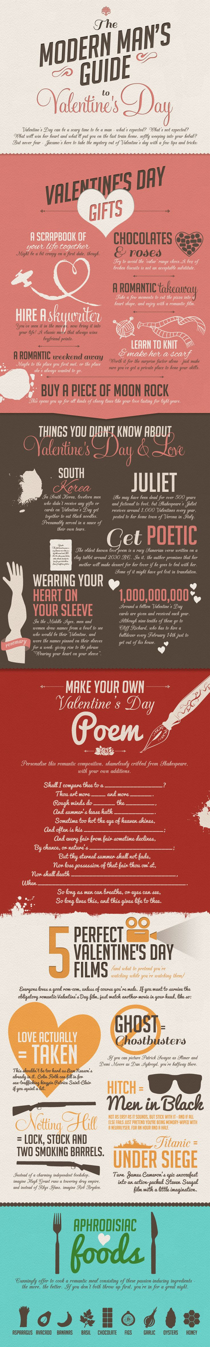 Roses are Red, Violets are Blue: 14 Infographics to Say I Love You | Visual.ly Blog