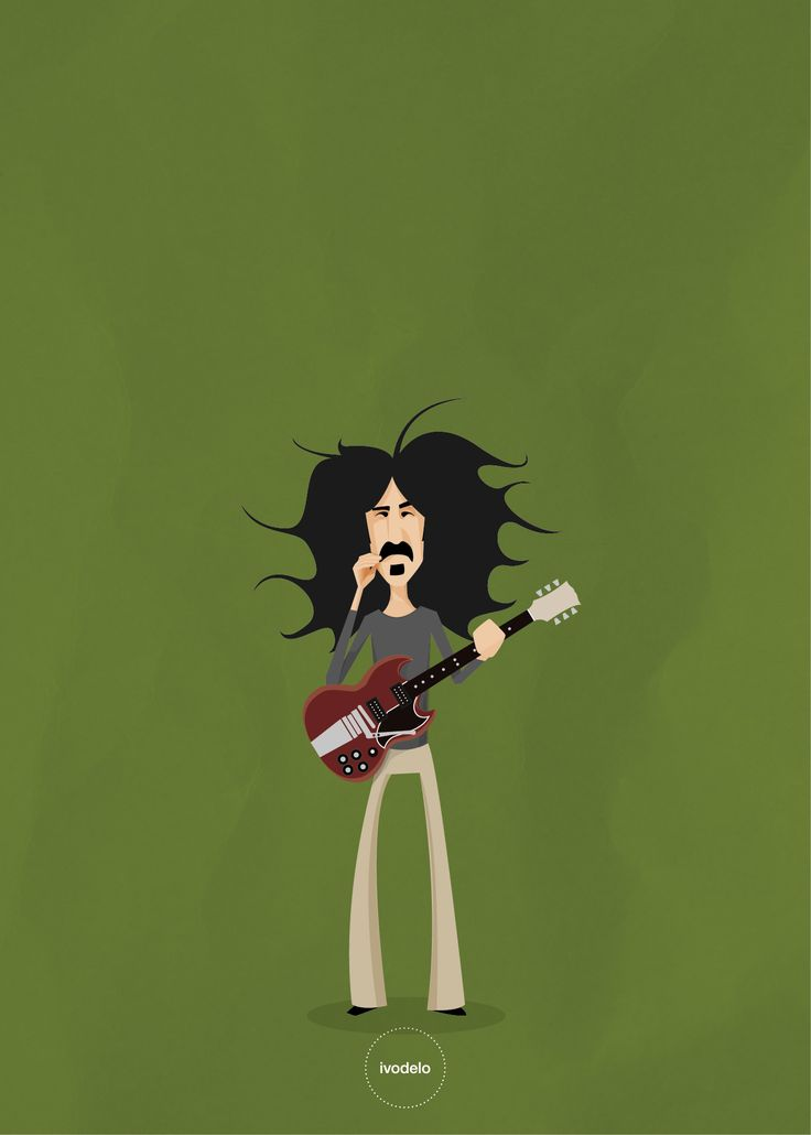 Frank Zappa #frank #zappa #frankzappa #gibsonroxy #illustration #ivodelo #ivodelo.com #ivandelorenzo