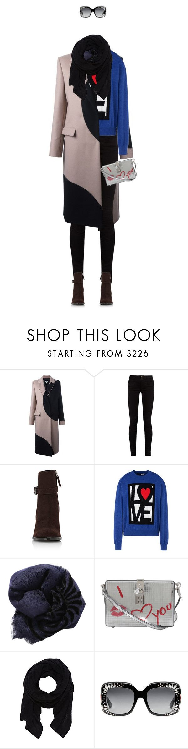 """""""A Winter's Wish"""" by andrea-garzon ❤ liked on Polyvore featuring MSGM, Gucci, Barneys New York, Love Moschino, Janavi, Dolce&Gabbana, GetTheLook, NYFW, korean and Crossgene"""