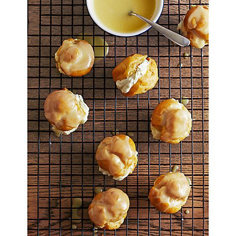 Buy Passion Fruit and white chocolate profiteroles by Jane Hornby Online at johnlewis.com