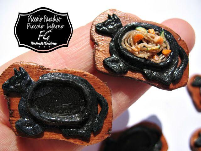 Piccolo Paradiso & Piccolo Inferno FG: Spaghetti di riso di mare alla piastra