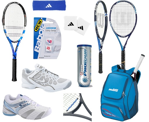 Spruce up your tennis equipment this spring. #tennis #sports #equipment