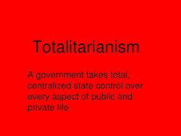 1984 description of the ingsoc totalitarian government Essentially, totalitarianism is a type of government in which the person or people  in power  it is the principle on which ingsoc (the society of 1984) is founded.