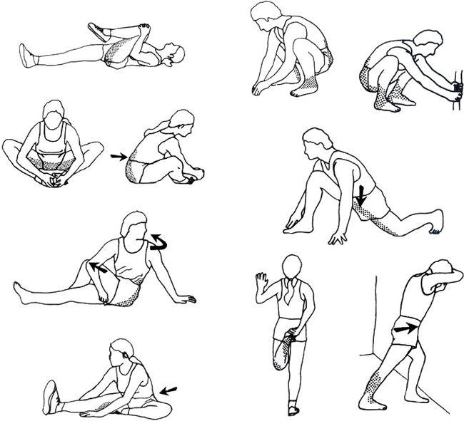 Mejores 18 im genes de ejercicio de estiramiento antes y for Estiramientos oficina