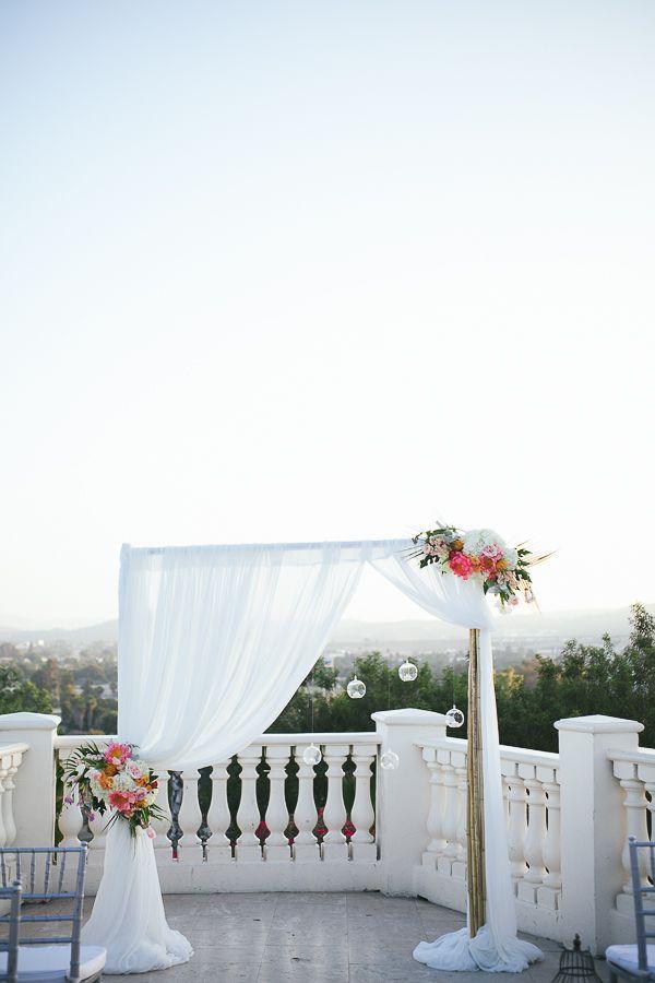 Old Havana Wedding Inspiration By Posh Peony Floral And Event Design | Palos Studio Photography