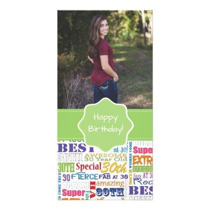 Unique And Special 30th Birthday Party Gifts Card - birthday gifts party celebration custom gift ideas diy