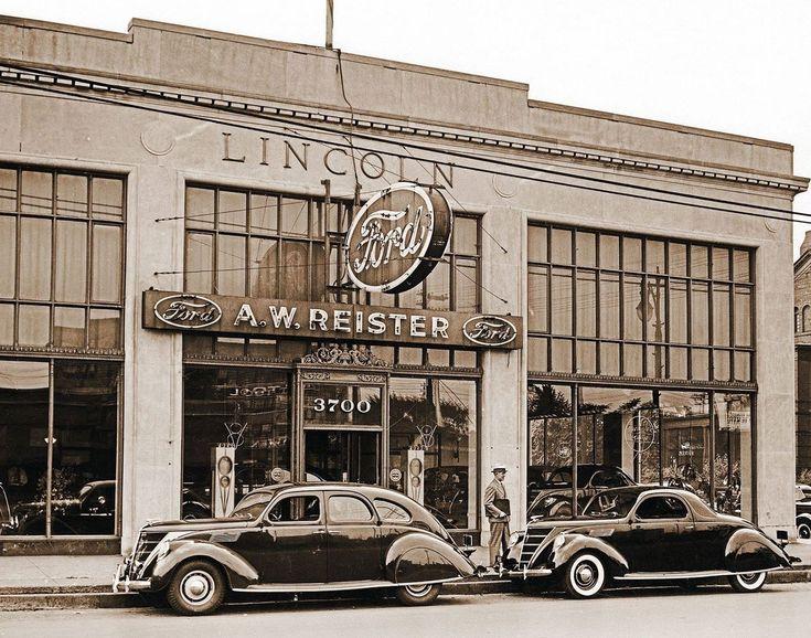 195 Best Vintage Car Dealers Images On Pinterest Bicycle Old