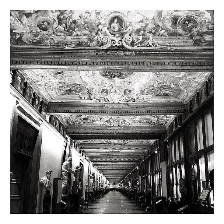At the Uffizi #firenze #florence #pitti #pittiuomo #pitti93 #culture #art
