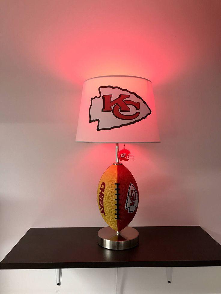 52 best Custom NFL Football Lamps by CaliRado Art images on ...