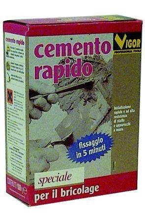 VIGOR CEMENTO RAPIDO IN SCATOLA KG. 1 http://www.decariashop.it/pittura/19259-vigor-cemento-rapido-in-scatola-kg-1.html