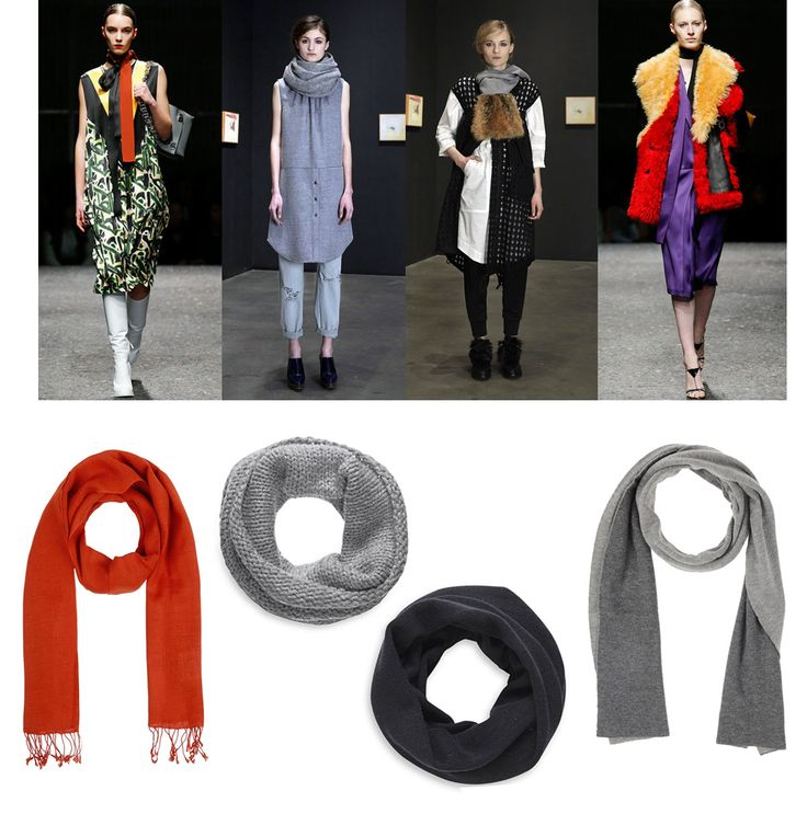 Trend Alert – The Scarf Controversy The second Miuccia Prada showed her fall collection people went nuts about her skinny silk scarves. Alexa Chung, of course, was one of the first glossy-fixtures to sport one, hers being black and boring (if you care to know – they come in a range of odd retro colors). At this point you might have guessed it: I´m not super crazy about them. They remind me of the 20ies (fine) and strangulation (not fine) and they´re utterly impractical if you live in Berlin…