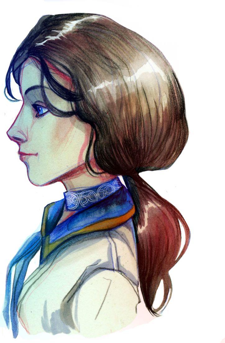 Bioshock Infinite : Elizabeth - Ne-sy
