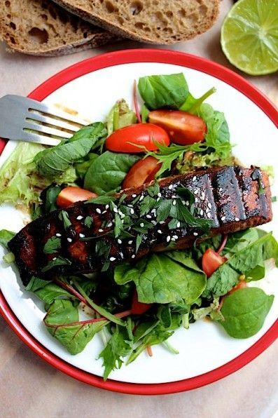 simple healthy homemade teriyaki salmon http www pincookie com simple ...