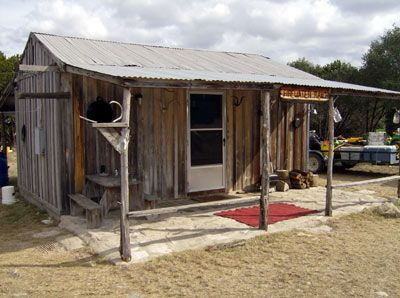 31 best ranch line shacks images on pinterest log cabins for Texas hill country cottages for sale