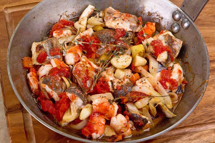Рыбная сковорода по-романски (зарегистрируйся на LetyShops.ru, оформи заказ в chefmarket.ru и верни от 5% от суммы заказа)
