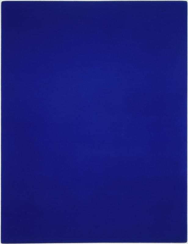 Ikb 3 Monochrome Bleu En 2019 Couleur Ral Peinture Et