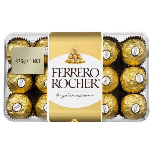 Ferrero  Chocolates Rocher Gift Pack 375g