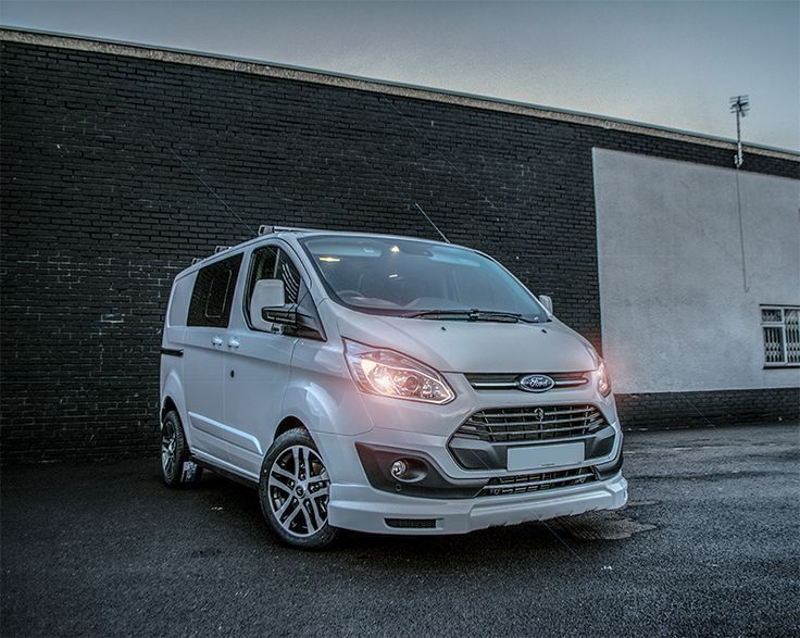 44e810d9c7 white  ford  transit  custom  van double cab with 18inch  alloys  van  leasing deals from  swissvans