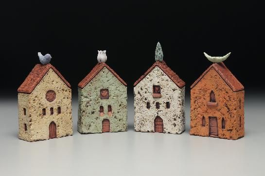 Love these friendship houses by Holden McCurry. Lucky enough to own one too!