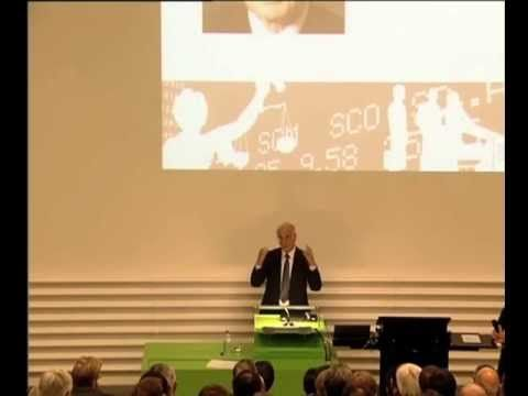 Public Lecture by Prof. Daniel Kahneman Thinking, Fast and Slow Tuesday, April 16, 2013 Aula, University of Zurich