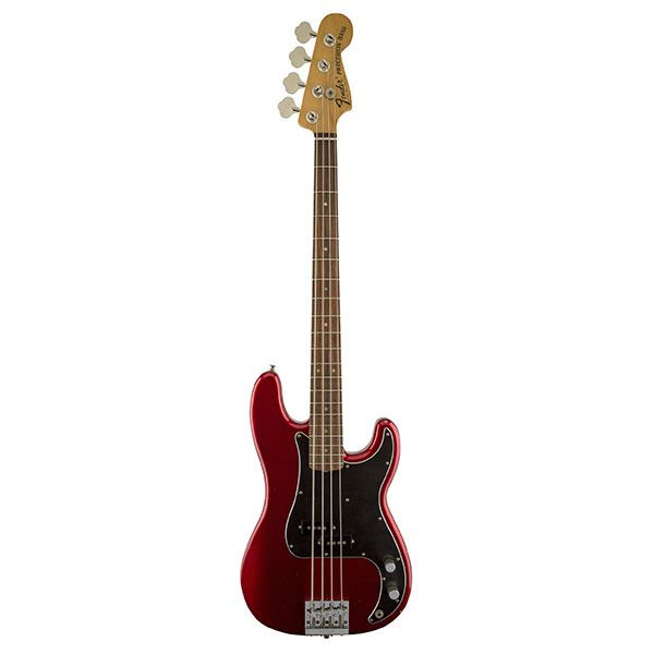 Fender Nate Mendel Precision Bass Guitar - Candy Apple Red