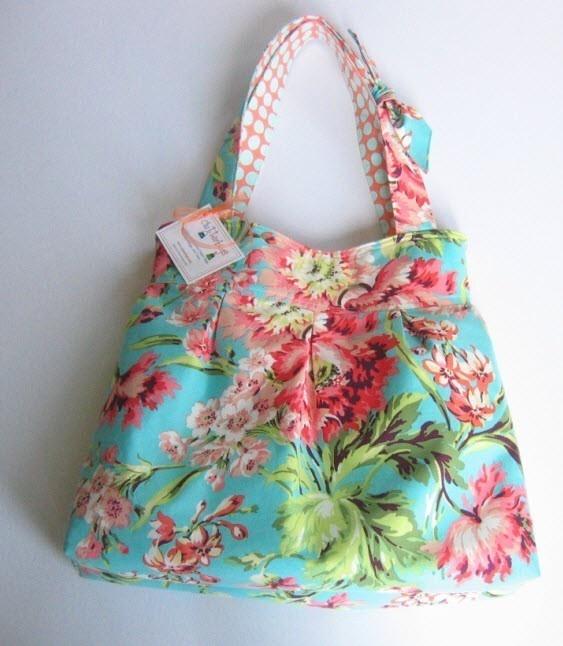 love this handmade bag... amy butler fabrics. $64.00