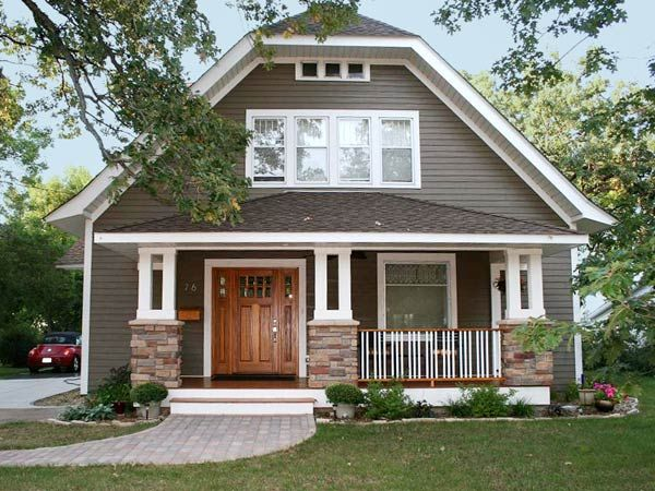 From best curb appeal before and afters - Best exterior color for small house ...