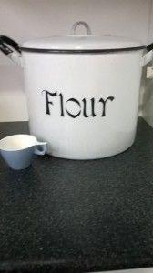 My new bread bin. I love it!