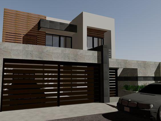 puertas-para-cocheras-modernas (2) - Curso de Organizacion del hogar y Decoracion de Interiores