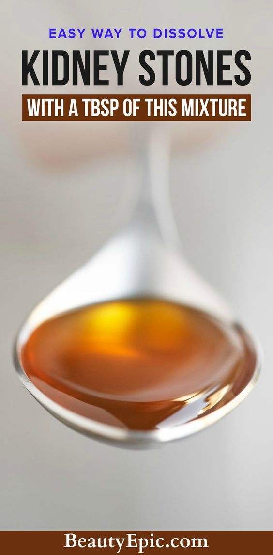 Dissolve Kidney Stones with a Tablespoon of This Mixture - Beauty Epic