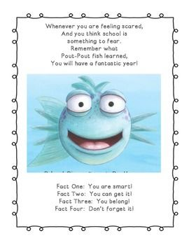 the pout pout fish goes to school kindergarten read aloud