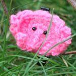 #gehaaktolifantje #haaksels #haken #rozeolifant #haarspeld #roze #olifant #pinkelephant #elephant #pink #rose #barrette #crochet