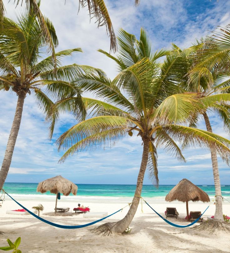 Tulum, Mexico {spent a day here during my honeymoon- beautiful beaches & Mayan ruins}