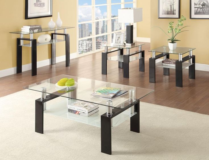 10 Beautiful Glass Table Sets For Living Room That You Must Have Part 80