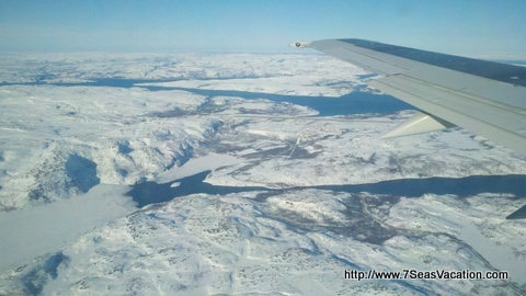 Arriving at airport at Kirkenes the top of Norway. Just a stone throw away from Russia.  http://www.7SeasVacations.com
