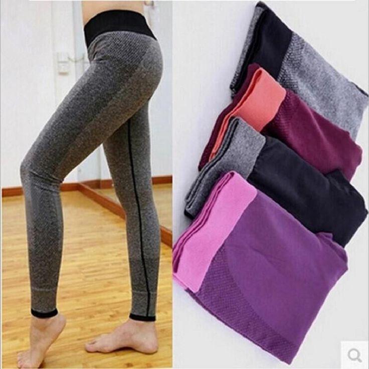 Women's Leggings Fitness High Waist Elastic Women Leggings Workout Leggins Pants  #streetstyle #beauty #swag #love #instalike #instafashion #pretty #stylish #fashionista #beautiful
